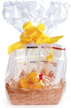 Babaria Baby Skin Care Cellophane Wrapped Gift Basket